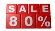 Sale 80% - Sales - Rebajas - Saldi