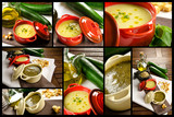 Vegetables soup composition