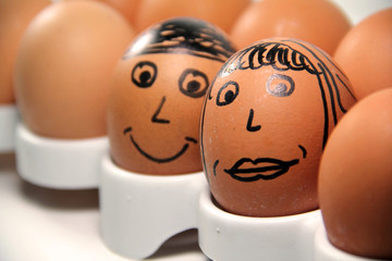An Egg Couple