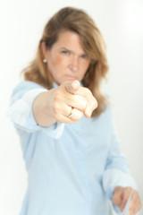 Scary female boss