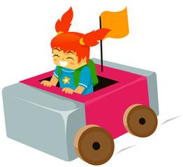 Kid Eraser Car