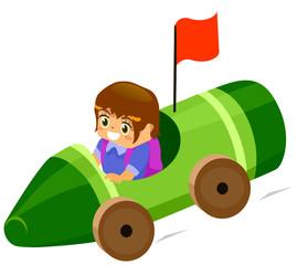 Kid Color Car