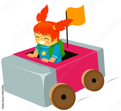 Kid Eraser Car