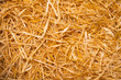 Leinwanddruck Bild - Straw Background
