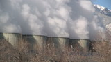 Powerplant smoke stacks