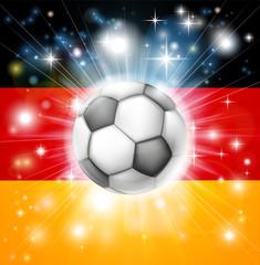 German soccer flag
