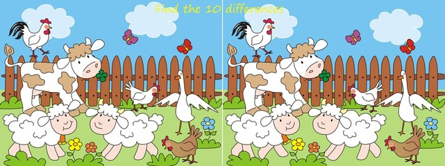farm-10 differences
