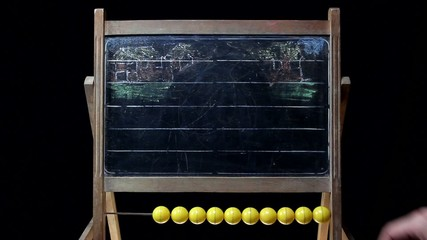 drawing on a chalkboard