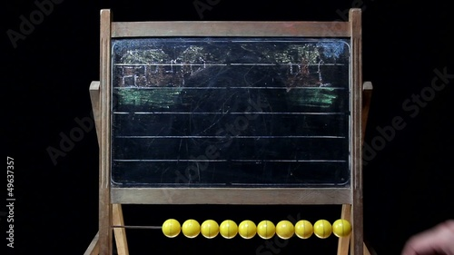 drawing on a chalkboard