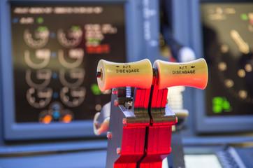 Throttle of an homemade Flight Simulator, Boeing 737-800