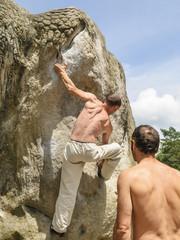 Problemlösung am Fels