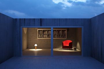 Urban reading room
