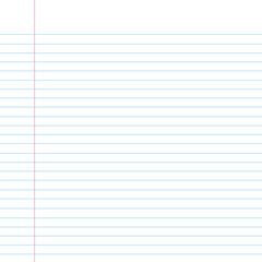 Seamless lined paper