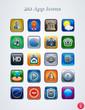 20 app icons.