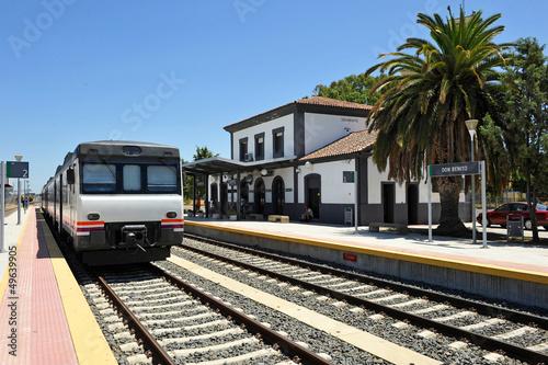 Estacion de ferrocarril, Don Benito