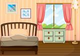 An empty bedroom
