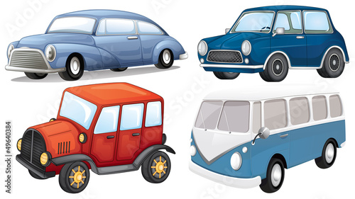 Different vehicle styles