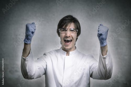 Erfolgreicher Wissenschaftler ist erfolgreich