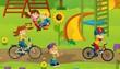 The funfair - playground