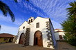 canary islands, la palma , north : Garafia, church