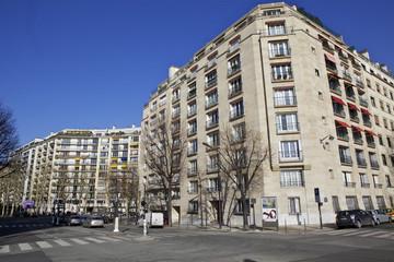 immeuble quai louis Blériot, Paris