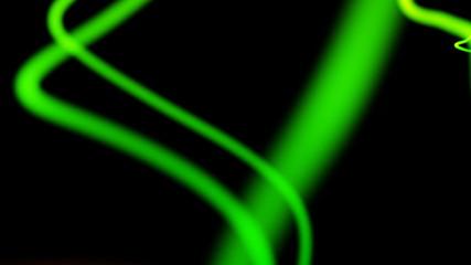 green distorted neon lines background loop