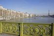vue de la tour Eiffel du pont Mirabeau, Paris