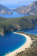 Oludeniz Coast and beach; Fethiye