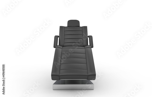 Black Cosmetic Salon Chair