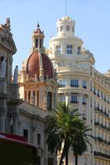 Zentrum von Valencia
