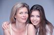mère et fille beauté complice