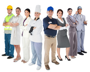 Different types of workers