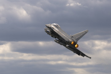 Eurofighter Typhoon Jet Aircraft