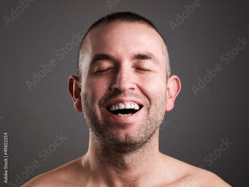 Laughing man