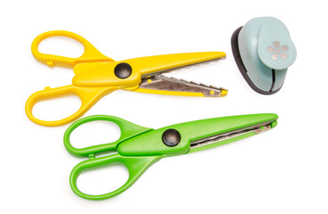 Scissors and craft tool