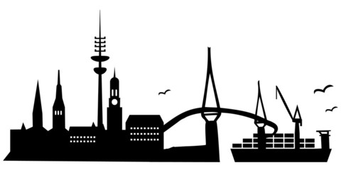 Hamburg, Skyline