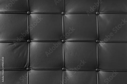 In de dag Leder schwarzes Leder