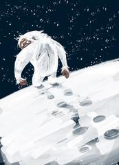 monstruo de la nieves