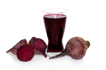 fresh beets juice