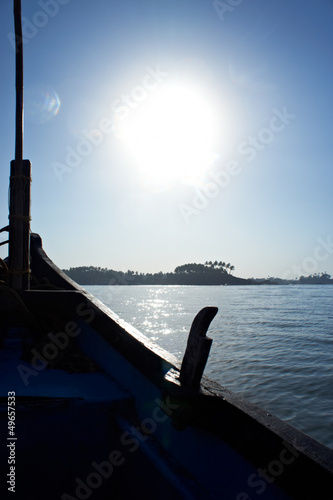 boat on GOA, India