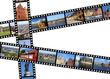 Stockholm film strips - travel memories from Sweden