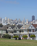 Painted ladies - Alamo Square in San Francisco