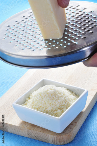 grated Parmigiano-Reggiano cheese