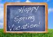Happy spring vacation