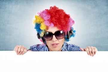 Female clown