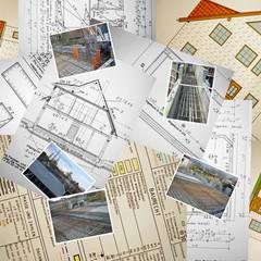 Bau Fundament Einfamilienhaus