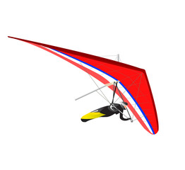 Hang Glider Red