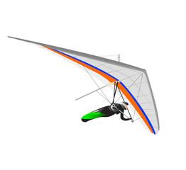 Hang Glider White