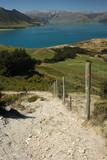 tramping track above lake Hawea poster