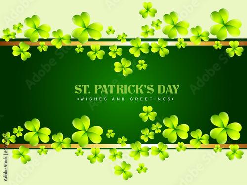 saint patrick's day background